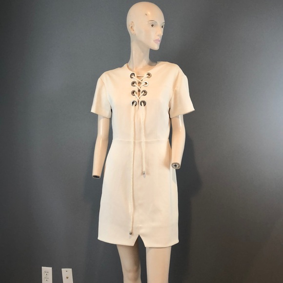Rebecca Minkoff Dresses & Skirts - NWOT Rebecca Minkoff Off White Mini Dress Sz 6
